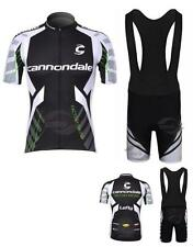 Cannondale Cycling Clothing Jersey & Bib Shorts Kit Sets Coolmax Padding A40