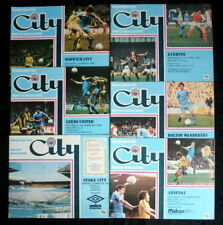 Manchester  City  league & cups  home  1979-1980   all with token   vgc