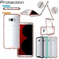 Ultra-Thin Slim Armor Shockproof Rubber Clear Hard Case Cover For Samsung Galaxy
