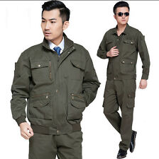 7153 Outdoor Men's Airsoft Military Tactical Combat Uniform Jacket+Pant Suits