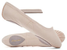 Ladies Pink Split Sole Canvas Ballet Shoes Slight Seconds By Katz Dancewear