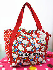 New Hellokitty Canvas Shopping Shoulder Handbag Bag Tote HandBag LL-201