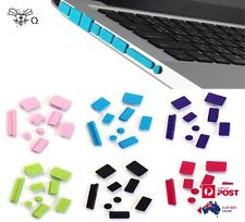 Silicone Anti Dust Plug Ports Cover Set For Apple Laptop Macbook Pro 13, 15,17