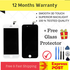For iPhone 6 LCD Screen Replacement Touch Digitizer Display Assembly Black White