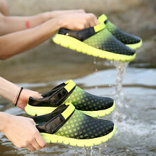 Summer Mens Sandals Beach Slippers Flip Flop  Outdoor Sports Breathable Shoes