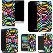 hard slim case cover for many mobiles -  swirling circle