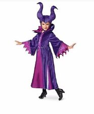MALEFICENT Decendants COSTUME+ HORNED HEADDRESS~Sleeping Beauty~NWT~Disney Store