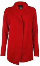 Sutton Studio Womens Cashmere Open Cardigan Sweater Petite