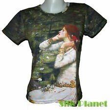 John WATERHOUSE Ophelia T SHIRT TOP FINE ART PRINT PAINTING Pre-Raphaelite