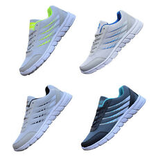 Man Summer Sport Running Sneakers Casual Walking Athletic Shoes Lace Up Trainers