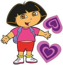 Dora the Explorer Movable Wall Stickers