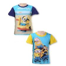 BOYS MINIONS T SHIRT T-Shirt 3 4 5 6 7 8 9 10 11 12 Years Despicable Me