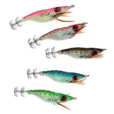 Squid Jigs Fishing Lure 3D Colorful Artificial Shrimp Octopus Lures 5 Color