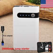 20000mAh LED Torch Car Jump Starter Battery Charger Booster Power Bank outdoor