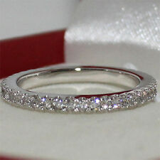 Women Rhinestones Retro Elegant Alloy Plated Finger Ring Jewelry Wedding Party
