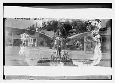Photo of Twining ornithopter, flying machine with bird-like wings