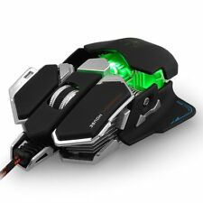 Professional Mechanical Gaming Mouse 4000 DPI Adjustable Optical USB Wired Mouse