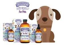 Sovereign Silver For Pets Bio-Active Silver Hydrosol for Immune Support - 10PPM