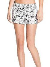 NWT WOMENS GUESS GUESS? BLACK WHITE DRESS INBLOOM FLOWER FLORAL CLUB SHORTS 8 10