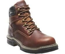 """Men's WOLVERINE Steel Toe RAIDER Leather 6"""" Work Boot MULTISHOX ~ You Pick Size"""