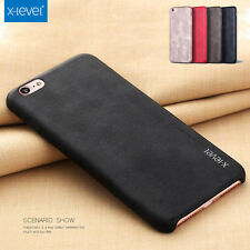 X-Level Vintage Ultrathin Leather Case Cover Skin For iPhone 8 Plus 7 6S 5S SE