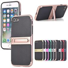 Protective Hybrid Shockproof Kickstand Hard Case Cover For iPhone 7 6 6S Plus 5S
