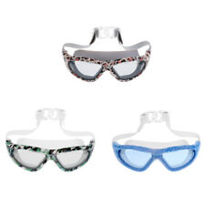Unisex Adult Kids Waterproof Anti-Fog Swim Swimming Goggles Glasses Adjustable