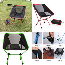 0.9Kg Ultralight Portable Aluminum Alloy Folding Camping Fishing Moon Chair