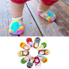 Cartoon Boy Girl Baby Skidproof Toddler Soft Room Socks Shoes Infant Booties
