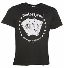 Official Men's Charcoal Motorhead Ace Of Spades T-Shirt from Amplified