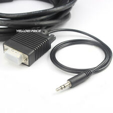 6FT 10FT 15FT 25FT 30FT SVGA VGA Cable Built-in 3.5mm Stereo Audio Ferrite Cores