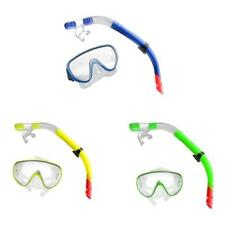Swimming Snorkeling Goggles Scuba Diving Mask Snorkel Set with Breathing Tube