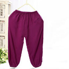 3-8 Years Kids Casual Pants Boys Girls Bourette Trousers New Children Clothing