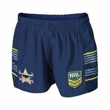 North Queensland Cowboys NRL Kids Supporter Shorts BNWT Rugby League