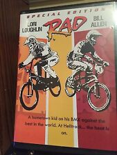 Rad (1986) BMX movie RARE dvd Lori Loughlin