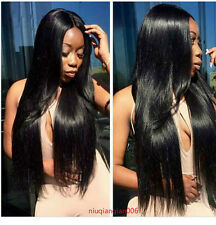 1pc/3pcs 100% Remy Virgin Brazilian Human Hair Extensions Weft Straight Hair 50g