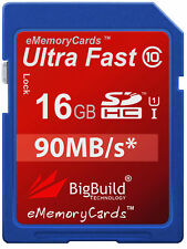 16GB Memory card for Nikon Coolpix L10 Camera | Class 10 80MB/s SD SDHC New UK