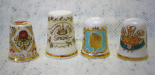 Very Rare Thimbles Collectable Fine Bone China