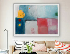 ABSTRACT MODERN Art Giclee Print Of Original Painting,Canvas Art,Horizontal