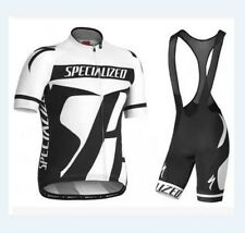 Team Specialized Cycling Jersey and Bib Shorts Set (UK SELLER)