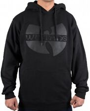 Wu-Wear Wu-Tang Clan Wu Tang App Black Hoody Hoodie Sweater Mens New Men's