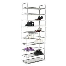 Home DIY Portable Closet Storage Organizer Simple Shoes Tower Rack Stand hfor