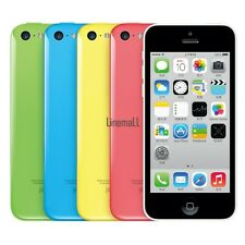 "Apple iPhone 5C-8GB 16GB 32GB GSM ""Factory Unlocked"" Smartphone Cell Phone LM"