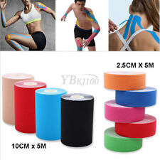 1 Roll Kinesiology Sports Tape Muscles Health Care Elastic Physio Therapeutic