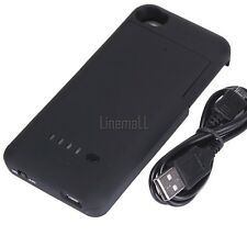 New 1900mAh External Rechargeable Backup Battery Charger Case  For Iphone LM01