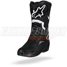 Alpinestars SMX-6 V2 Black White Motorcycle Boots, SMX 6 V 2, NEW!