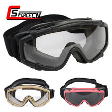 Airsoft Paintball Goggle Glasses Protection Anti-Fog Lens Tactical Military Army