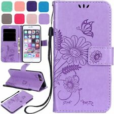 Luxury Slim Magnetic Leather Wallet Flip Case Cover For Apple iPhone 5 6S 7 Plus