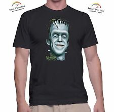 THE MUNSTERS HERMAN MUNSTER TV SHOW  Retro Vintage NEW PRINTED  T SHIRT