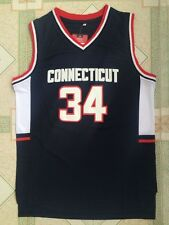 Ray Allen #34 Connecticut NCAA Black Stitched Basketball Swingman Jersey S - 2XL